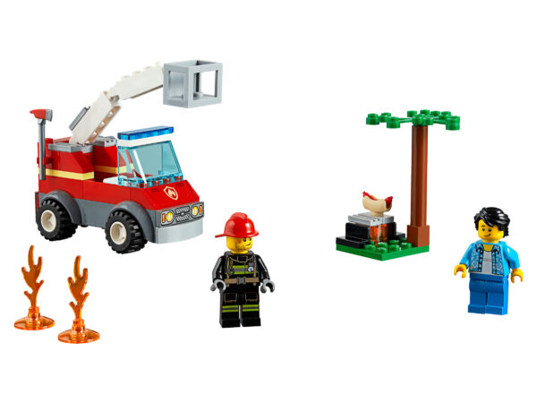 LEGO City Feuerwehr beim Grillfest 60212 | 3