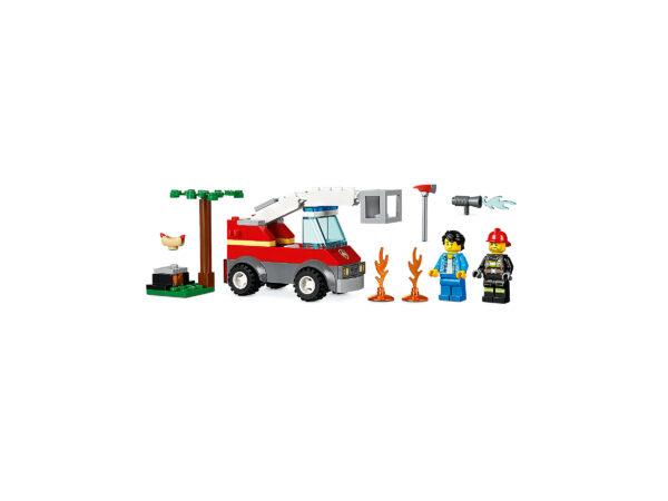 LEGO City Feuerwehr beim Grillfest 60212 | 5