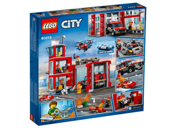 LEGO City Feuerwehr-Station 60215 | 2