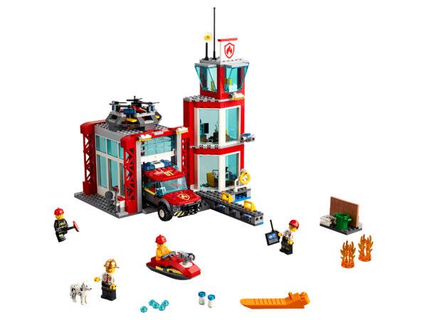LEGO City Feuerwehr-Station 60215 | 3