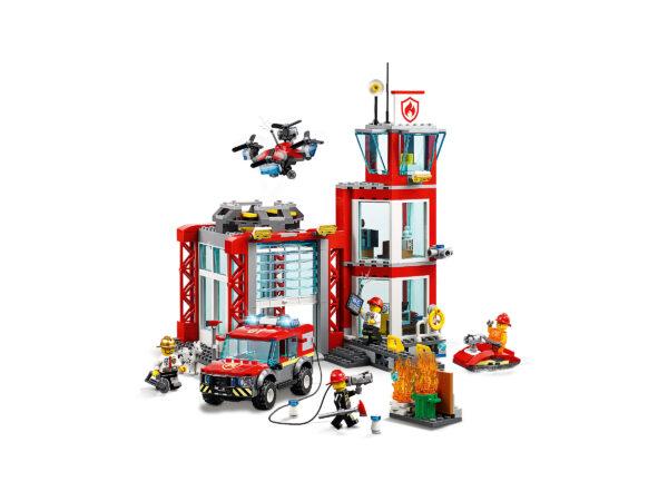 LEGO City Feuerwehr-Station 60215 | 4
