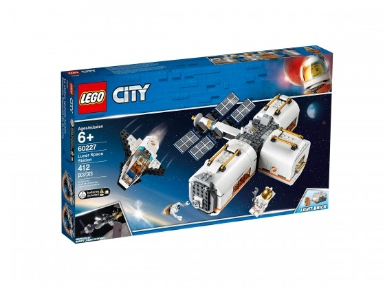 LEGO City Mond Raumstation 60227   günstig kaufen