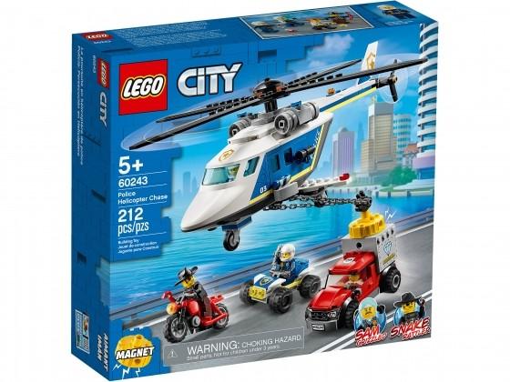 LEGO City Verfolgungsjagd mit dem Polizeihubschrauber 60243 | günstig kaufen