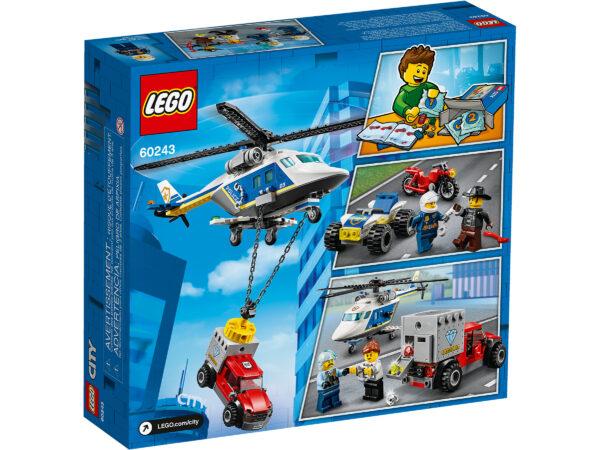 LEGO City Verfolgungsjagd mit dem Polizeihubschrauber 60243 | 2