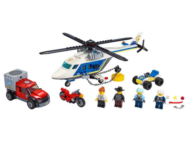 LEGO City Verfolgungsjagd mit dem Polizeihubschrauber 60243 | 3