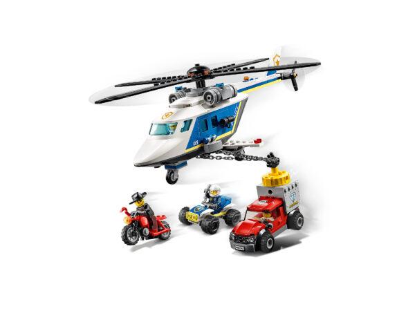 LEGO City Verfolgungsjagd mit dem Polizeihubschrauber 60243 | 4