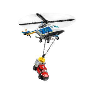 LEGO City Verfolgungsjagd mit dem Polizeihubschrauber 60243 | 5