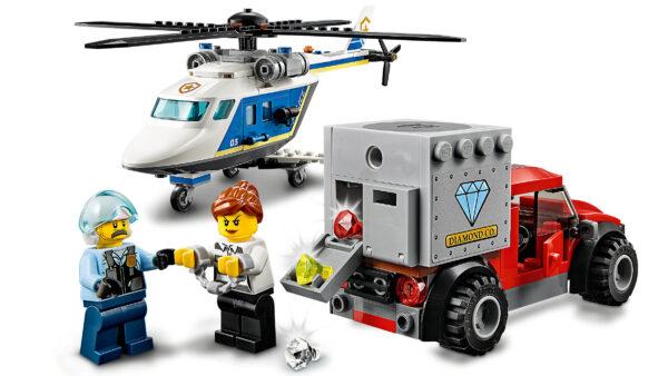 LEGO City Verfolgungsjagd mit dem Polizeihubschrauber 60243 | 6
