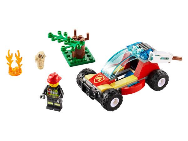 LEGO City Waldbrand 60247   3