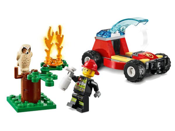 LEGO City Waldbrand 60247   5