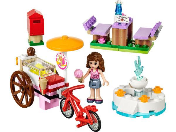 LEGO Friends Olivias Eiscreme-Fahrrad 41030   3