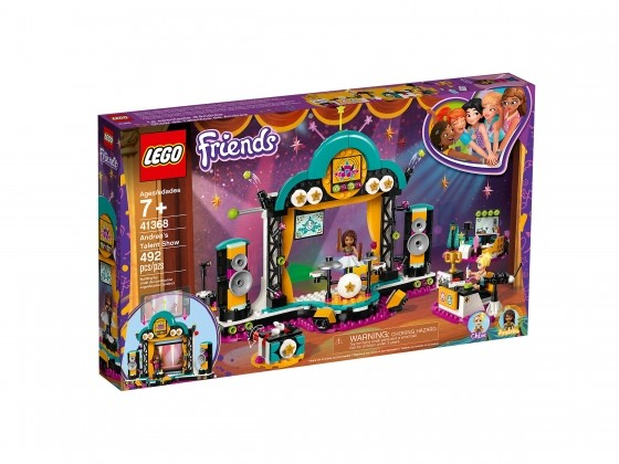 LEGO Friends Andreas Talentshow 41368   günstig kaufen