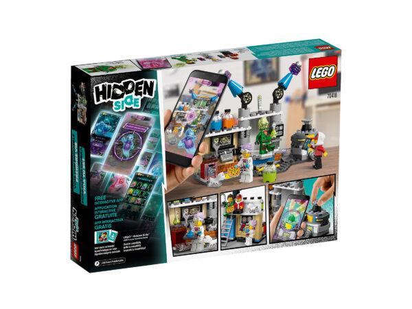 LEGO Hidden Side J.B.´s Geisterlabor 70418   2