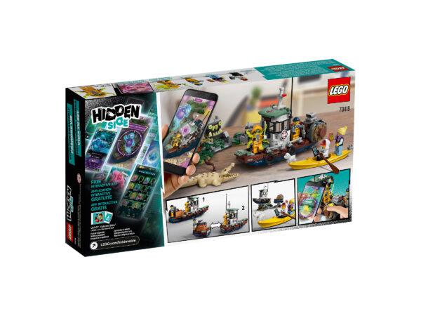 LEGO Hidden Side Gekenterter Garnelenkutter 70419   2