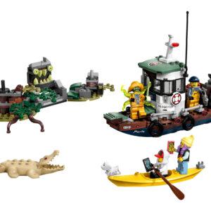LEGO Hidden Side Gekenterter Garnelenkutter 70419   3