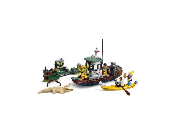 LEGO Hidden Side Gekenterter Garnelenkutter 70419   4