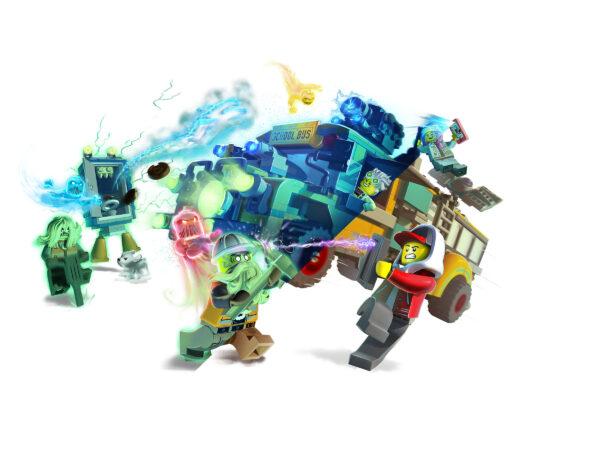 LEGO Hidden Side Spezialbus Geisterschreck 3000 70423 | 4