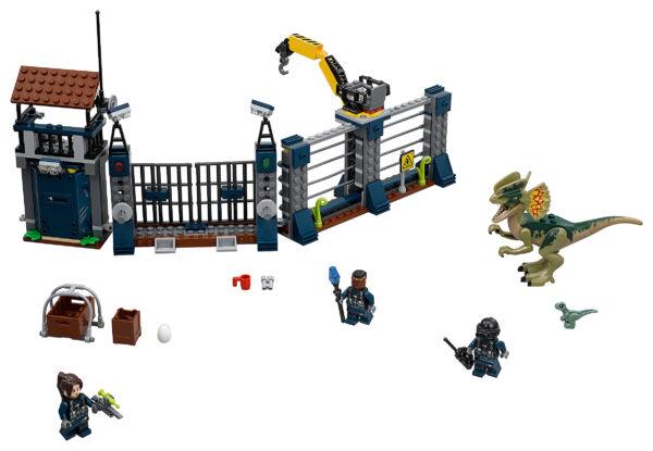 LEGO Jurassic World Angriff des Dilophosaurus 75931 | 3