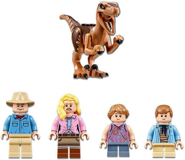 LEGO Jurassic World Jagd auf den Velociraptor 75932 | 6