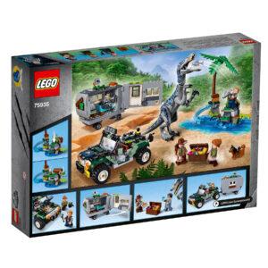 LEGO Jurassic World Baryonyxs Kräftemessen: die Schatzsuche 75935 | 2