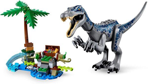 LEGO Jurassic World Baryonyxs Kräftemessen: die Schatzsuche 75935 | 4