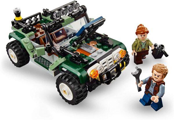 LEGO Jurassic World Baryonyxs Kräftemessen: die Schatzsuche 75935 | 5
