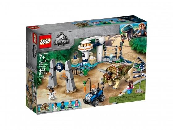LEGO Jurassic World Triceratops-Randale 75937   günstig kaufen