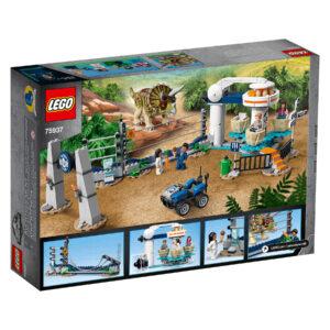LEGO Jurassic World Triceratops-Randale 75937   2