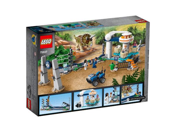 LEGO Jurassic World Triceratops-Randale 75937 | 2