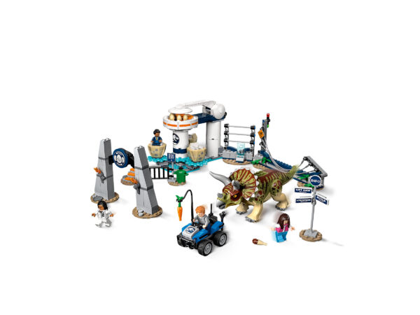 LEGO Jurassic World Triceratops-Randale 75937   3