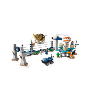 LEGO Jurassic World Triceratops-Randale 75937 | 4
