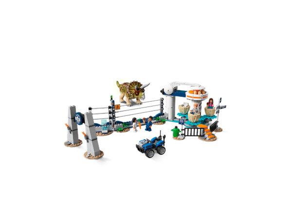 LEGO Jurassic World Triceratops-Randale 75937   4