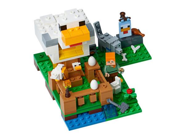 LEGO Minecraft Hühnerstall 21140 | 3