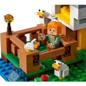 LEGO Minecraft Hühnerstall 21140 | 5