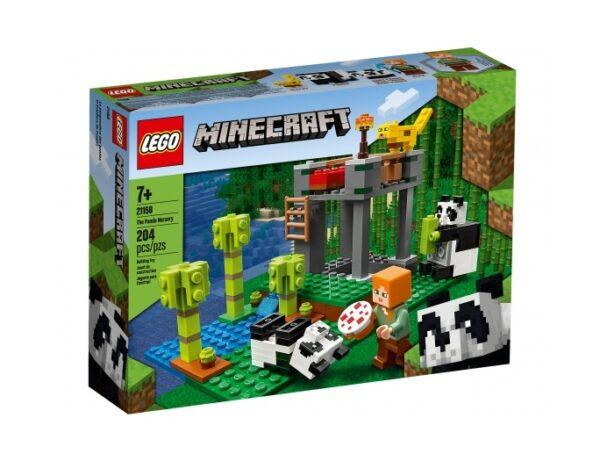 LEGO Minecraft Der Panda-Kindergarten 21158   günstig kaufen