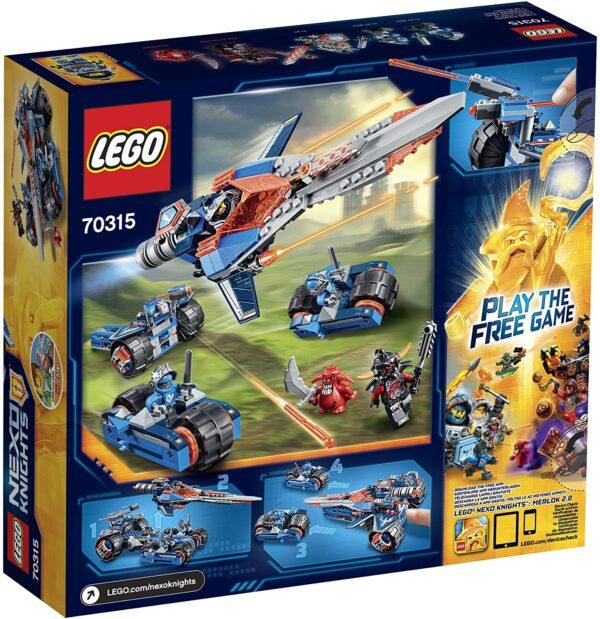 Lego Nexo Knights 70315 | Clays Klingen-Cruiser | 2