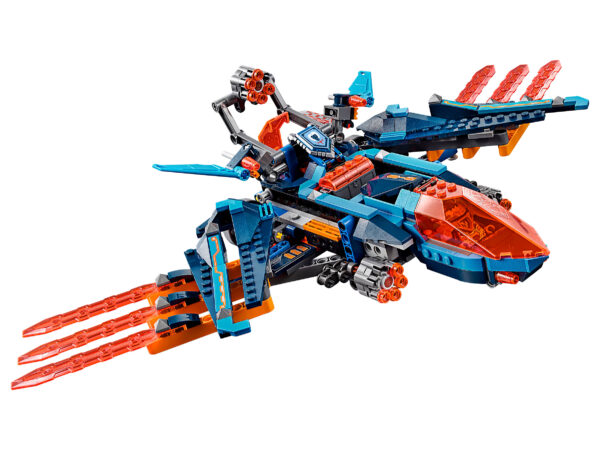 Lego Nexo Knights 70351 | Clays Blaster-Falke | 4