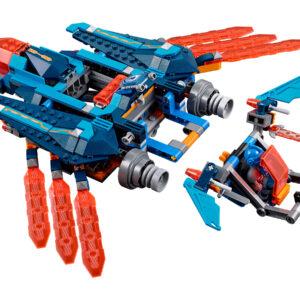 Lego Nexo Knights 70351 | Clays Blaster-Falke | 5