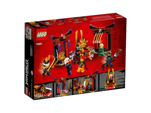 LEGO Ninjago Duell im Thronsaal 70651   2
