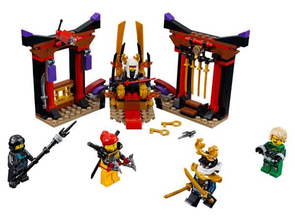 LEGO Ninjago Duell im Thronsaal 70651   3