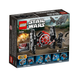 LEGO Star Wars First Order TIE Fighter Microfighter 75194 | 2