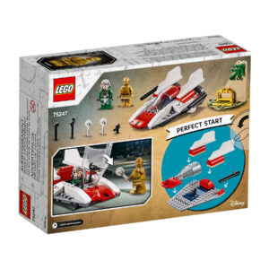 LEGO Star Wars Rebel A-Wing Starfighter 75247 | 2