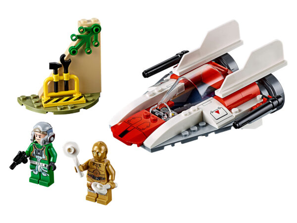 LEGO Star Wars Rebel A-Wing Starfighter 75247 | 3