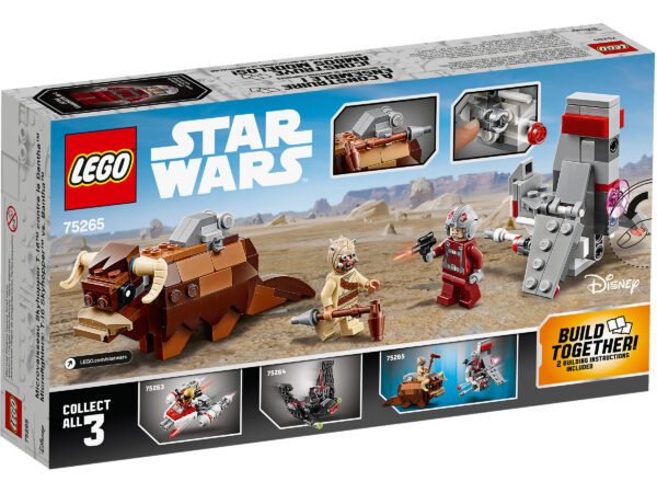 LEGO Star Wars T-16 Skyhopper vs Bantha Microfighters 75265 | 2