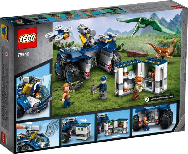 LEGO® Jurassic World Ausbruch von Gallimimus und Pteranodon 75940 | 2