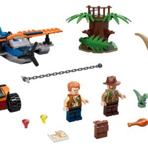 LEGO® Jurassic World Velociraptor: Rettungsmission mit dem Doppeldecker 75942   3