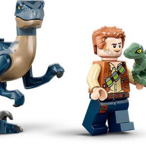 LEGO® Jurassic World Velociraptor: Rettungsmission mit dem Doppeldecker 75942   4