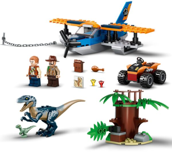 LEGO® Jurassic World Velociraptor: Rettungsmission mit dem Doppeldecker 75942   5