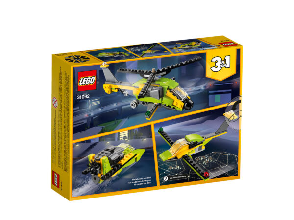 LEGO® Creator Hubschrauber-Abenteuer 31092 | 2