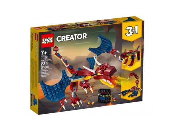 LEGO® Creator Feuerdrache 31102   günstig kaufen